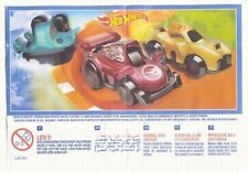 Kinder Surprise Hot Wheels + 3 BPZ Limited Edition Boys Toys INDIA 2016 RARE