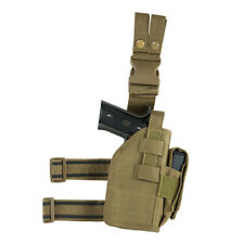 VISM by NcSTAR DROP LEG UNIVERSAL HOLSTER TAN