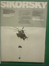 2/1978 PUB SIKORSKY CH-53E MARINES HELICOPTER HUBSCHRAUBER ORIGINAL AD