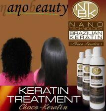 NANOBEAUTY CHOCO BRAZILIAN KERATIN TREATMENT BLOW DRY HAIR STRAIGHTENING 100ML