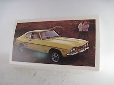 Mercury Capri 2600 factory postcard 1972 mint new orig