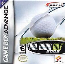 ESPN Final Round Golf 2002  (Game Boy Advance, 2001)-