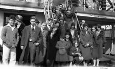 1930's Steamship Passengers Cape Cod Massachusetts Original Negative + CD