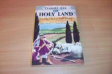 LADYBIRD BOOK FLIGHT SIX THE HOLY LAND 2/6 NET DUST/JACKET