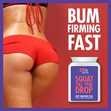 GYM BUNNY SQUAT TILL YOU DROP BUTT ENHANCER PILLS – GET PERT TONED FIRM BUM