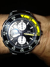 IWC IW376708 Aquatimer Chronograph Stainless Steel Bracelet w/BOX & ALL PAPERS