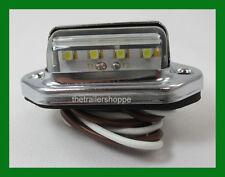 White License Plate Lamp Utitity LED light Truck trailer RV Surface Mount