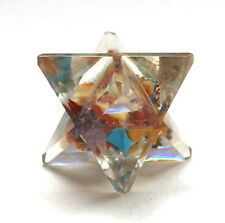 REIKI CHARGED 7 CHAKRA ORGONE CRYSTAL MERKABA STAR POWERFUL ENERGY GENERATOR UK