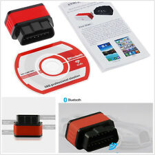 New Smart Car SUV OBD2 ELM327 Bluetooth Diagnostic Scanner Tool Sleep Switch Kit