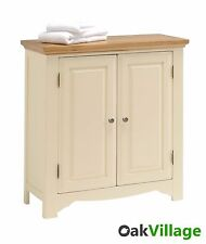 Rosehill Painted Oak Linen Cupboard / Storage Cabinet / Bedroom & Bathroom / New