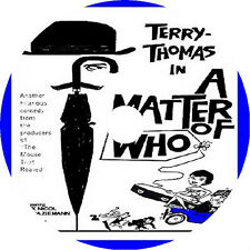 A Matter of WHO DVD Terry Thomas Richard Briers Honor Blackman rare 1961