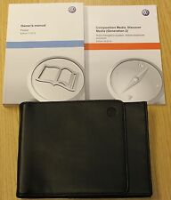 Genuine vw passat saloon B8 manuel owners manual wallet 2014-2016 impression 2014