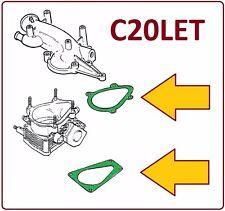 Opel Calibra 4x4 2.0 Turbo C20LET Dichtung Drosselklappengehäuse  oben + unten