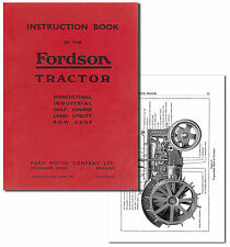 Fordson Tractor Instruction Book