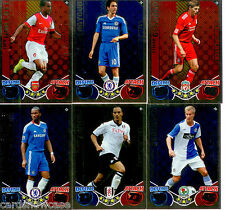 2010-11 Topps Match Attax Showboat Foil Card Full Set (20)