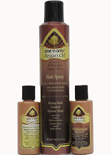 One n Only Argan Oil 3 in 1 - 10 oz Hair Spray, 3 oz Shampoo, 3 oz Conditioner