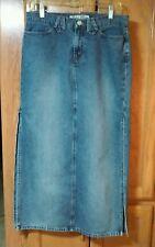 PARIS BLUES Soulmate blue denim skirt size 7