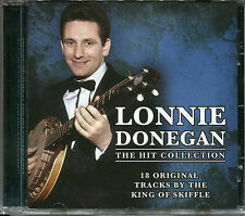 LONNIE DONEGAN THE HIT COLLECTION CD - KING OF SKIFFLE, GAMBLIN' MAN & MORE