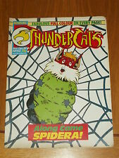 THUNDERCATS #40 19TH DECEMBER 1987 BRITISH WEEKLY FREE POSTER GIFT INCLUDED