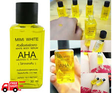 SPEED WHITENING INTENSIVE SERUM  & BRIGHTENING SKIN  WITH AHA VITAMIN C,E 30 ml.