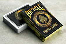 CARTE DA GIOCO BICYCLE PHENOGRAPHIC,poker size