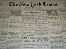 1932 MAY 22 NEW YORK TIMES - BRANDEIS URGES COMPETITION CONTROL - NT 4113