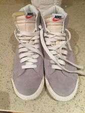 MENS NIKE HIGH TOP BLAZER TRAINERS COLOUR GREY SIZE UK 8