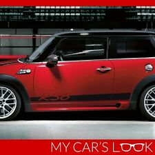 Mini Cooper R56 2006-2013 side stripes lettering porsche style graphics decal