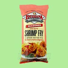 LOUISIANA SHRIMP FRY 3 Bags x 10oz CRISPY SEASONED SEAFOOD BATTER MIX