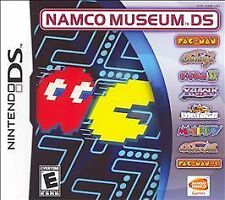 Namco Museum Nintendo DS Pac Man Galaga Xevious Dig Dug II more Brand New Sealed