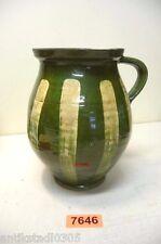 Nr. 7646.  Alter Tontopf Franken Tontopf  Keramik Topf Old Clay Pot