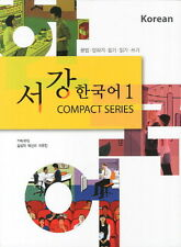 Sogang Korean Text Book 서강한국어 1 Compact Series w/ CD Free Ship 9788992491709