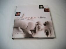 From Conception to Birth  A Life Unfolds (2002 Hardcover) Tsiaras; 1st Edition