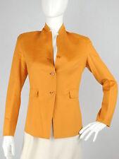 Jil Sander Cashmere Orange Jacket, Size 34/US 6
