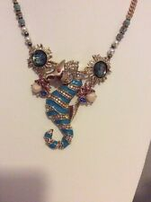 $75 Betsey Johnson Faux Seahorse Necklace