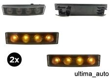 2X SCANIA TRUCK 24V LED ORANGE AMBER DRL SUN VISOR MARKER POSITION LAMP LIGHT