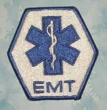 "EMT Patch - vintage - Emergency Medical Technician - 3 1/2"" x 3 1/2""  Last One!"