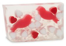 Primal Elements, LOVE BIRDS Large 7 oz.+ not 6.0  Handmade Glycerin Soap