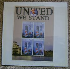 World Trade Center - Twin Towers - WTC - 9/11 - United We Stand Stamp Sheet