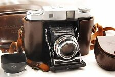 【Exc+++】Mamiya SIX AUTO MAT 6x6 Rangefinder Camera w/Case & Hood From Japan