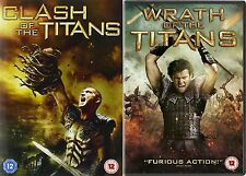 Clash Of The Titans / Wrath of the Titans Sam Worthington, NEW SEALED UK R2 DVD