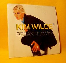Cardsleeve Single CD Kim Wilde Breakin' Away 2TR 1995 Hard Acid House