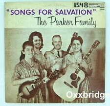 THE PARKER FAMILY Songs For Salvation AUDIO LAB Country Gospel RARE 1950's LP