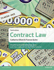 Contract Law by Catherine Elliott, Frances Quinn audio cd)