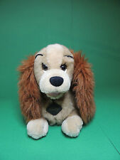 La belle & le Clochard Peluche Chien CASANA Disney soft toy plush Laydy Vintage