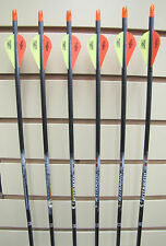 Easton Aftermath 400 Arrows - Blazer Vanes- 6 pack- Cut to length FREE!