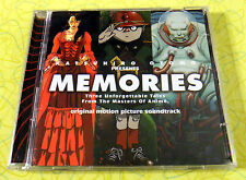 Memories - Original Soundtrack ~ Music CD ~ Katsuhiro Otomo Anime Movie OST Rare