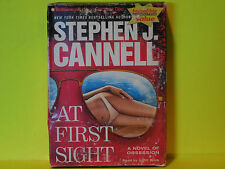At First Sight : A Novel of Obsession by Stephen J. Cannell (2008, CD, Abridged)