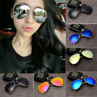Fashion Vintage Retro Women/Men Glasses Aviator Mirror Lens Sunglasses