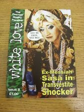 Sep-1996 Fanzine: Bolton Wanderers - White Lover, Issue 09. Footy Progs (aka bob